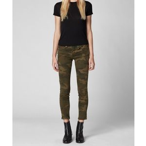 Blank NYC The Reade Skinny Crop Pant Camo …